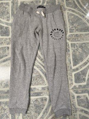 SUPER DRY Pantalon de jogging gris clair-gris