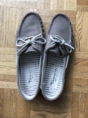 Tamaris Zapatos de marinero gris claro-gris