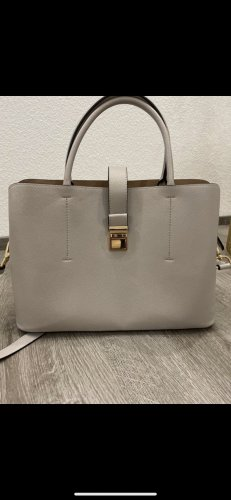 Graue Tasche/ Shopper