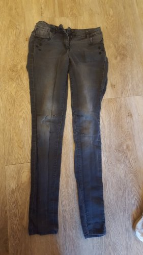 graue TOM TAILOR Hose mit Sternchen in XL/176
