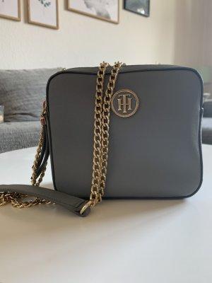 Graue Tommy Hilfiger Camera Bag Novelty Solid Umhängetasche