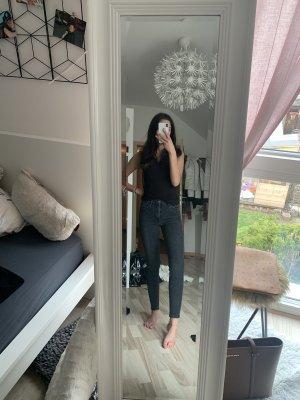 Graue Topshop Jeans