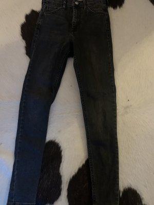 Topshop Jeans skinny grigio scuro