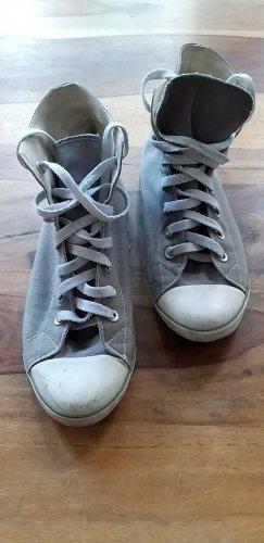 no name Lace-Up Sneaker grey-white