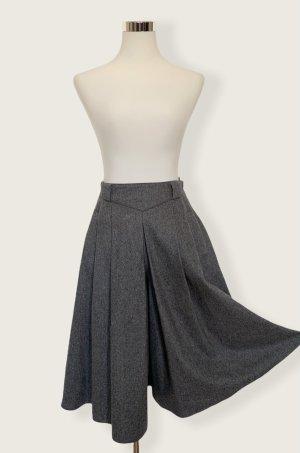 Hirsch Pantalone culotte grigio