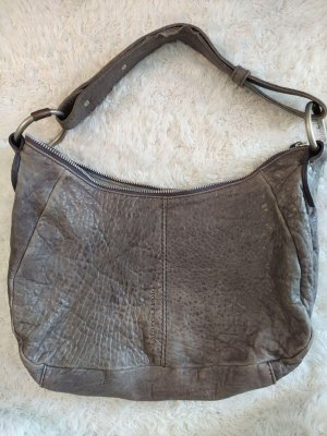 Graue Vintage Marc O´Polo Tasche aus Leder