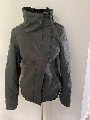 Graue warme Jacke von Ragwear, Gr. M