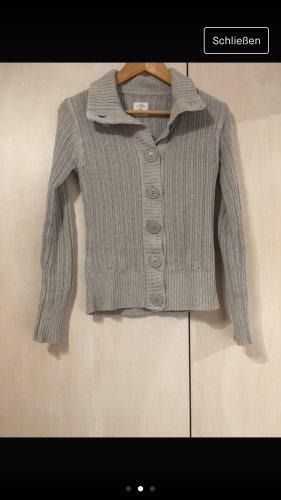 H&M L.O.G.G. Chaleco de punto gris claro-gris