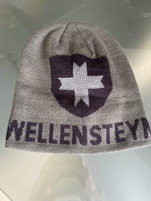 Wellensteyn Czapka z tkaniny zielono-szary-szary