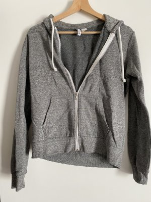 H&M Divided Hooded Vest light grey-grey