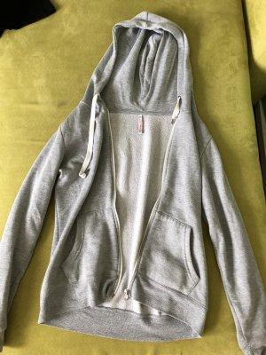 FB Sister Smanicato con cappuccio grigio-grigio chiaro