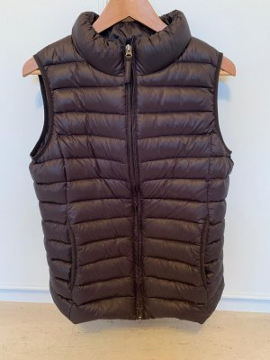 Opus Quilted Gilet grey