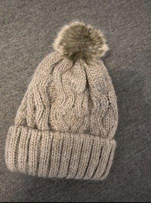 H&M Sombrero de punto gris