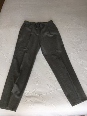 Massimo Dutti Woolen Trousers grey