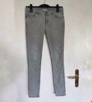Graue ZARA BASIC Jeans