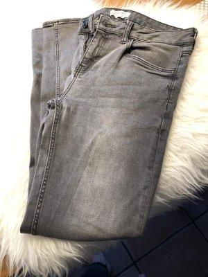 Graue ZARA Jeans - skinny Jeans in 38