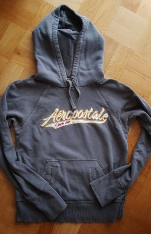 grauer Aeropostale Hoodie/ Sweater/ Kapuzenpullover