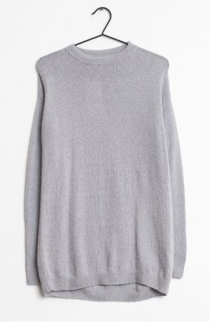 American Vintage Wełniany sweter szary