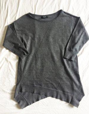 Grauer asymmetrischer Pullover von verve Ami NEU