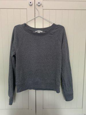 Grauer Basic Pullover/ Sweatshirt