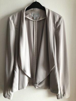 H&M Blazer sweat gris clair