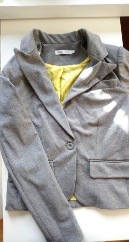 Only Korte blazer lichtgrijs-grijs