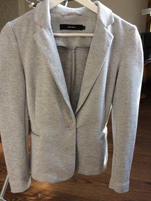 Vero Moda Blazer tejido gris claro