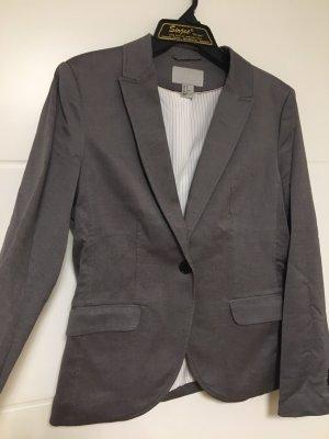 H&M Unisex blazer grijs