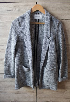 Promod Blazer in jersey nero-grigio