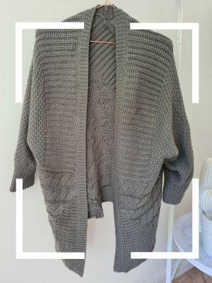 Asos Cardigan tricotés gris-gris foncé