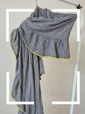 Codello Bufanda de cachemir gris-verde pradera
