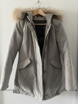 Canadian Classics Down Jacket silver-colored-grey mixture fibre