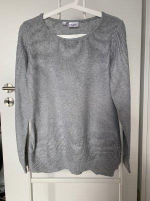 bpc bonprix collection Crewneck Sweater light grey-grey