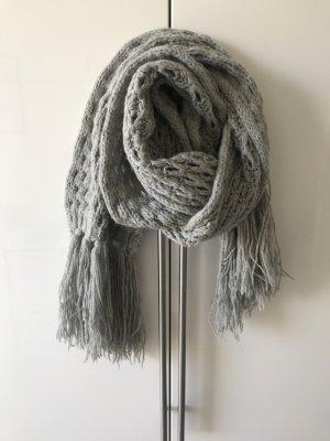 Esprit Bufanda de lana gris claro