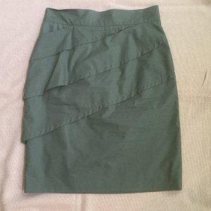 Grauer Fendi Stufenrock Pencilskirt