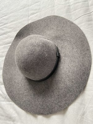 H&M Felt Hat grey-black