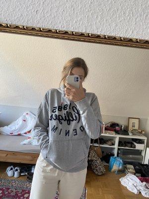 Grauer Hilfiger hoodie