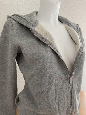 Smil Fake Fur Jacket light grey-grey
