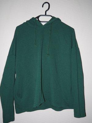 Pull & Bear Camicia con cappuccio verde scuro