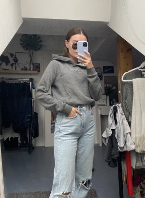 Gina Tricot Hooded Sweater grey