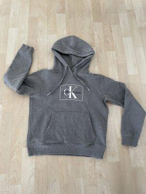 grauer Hoodie-Sweater von CK Calvin Klein