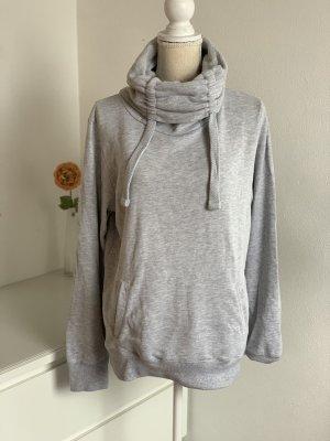 Grauer Hoodie Sweatshirt von Fishbone New Yorker Gr. L