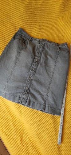 Gonna di jeans grigio