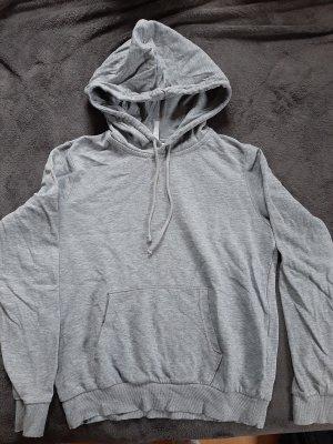 H&M Maglione con cappuccio grigio chiaro