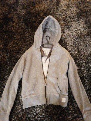 L.O.G.G Capuchon sweater grijs