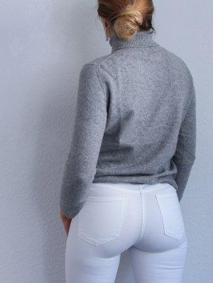 Appelrath-Cüpper Kaszmirowy sweter jasnoszary-szary Kaszmir