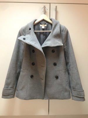 H&M Pea Jacket grey-light grey