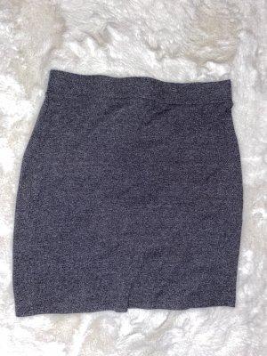 H&M Divided Jupe taille haute gris-gris foncé