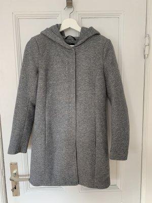 Vero Moda Płaszcz z kapturem jasnoszary-szary