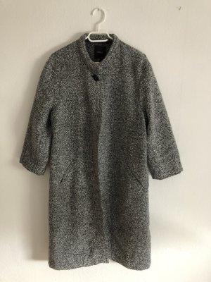 Forever 21 Cappotto in lana bianco-grigio
